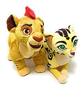 Disney The Lion Guard Kion and Fuli Medium Plush Bundle