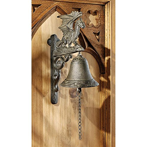 n of Murdock Manor Gothic Iron Bell: Set of Two ()