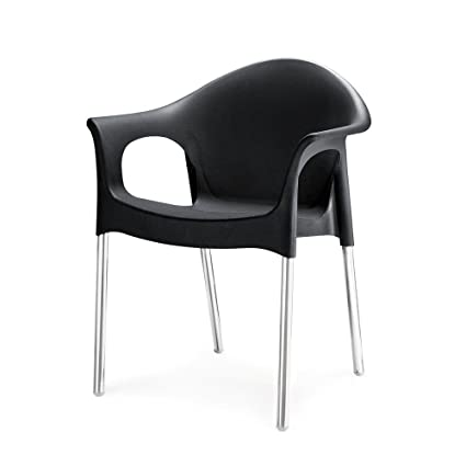Nilkamal Novella Chair (Black)