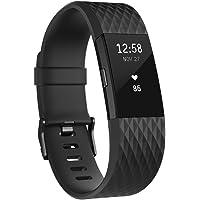 Fitbit Charge 2 智能时尚心率手环 心率实时监测 自动睡眠记录 来电显示 VO2Max测量