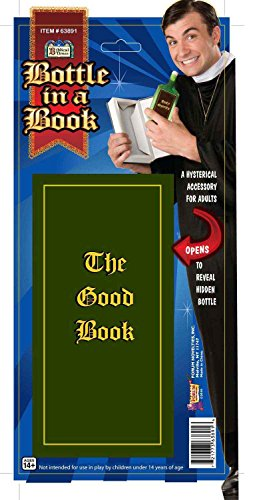 Good Book Costumes (Forum Novelties Men's Bottle In A Book, Multi-color, One Size)