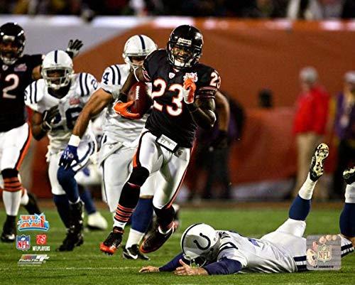 Devin Hester Chicago Bears Super Bowl XLI Action Photo (Size: 8