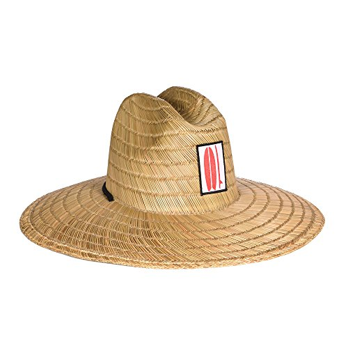 Surf Outfitter Men's Kahuna Straw Lifeguard Hat -