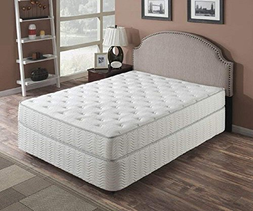 "Solar 9"" Pocket Coil Mattress, Queen"