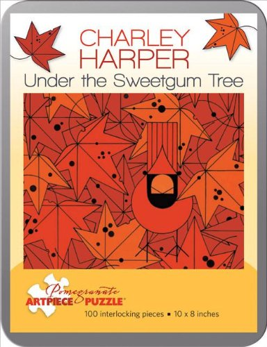Charley Harper/Under Sweetgum Tree 100 Piece Tin Puzzle (Pomegranate Artpiece Puzzle)