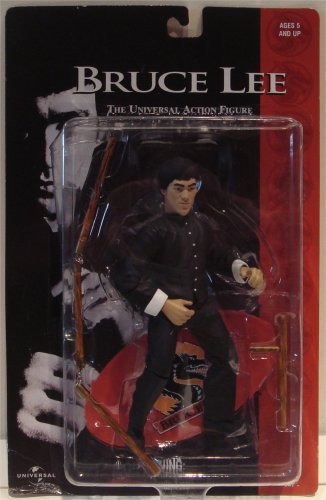 Bruce Lee The Universal Action Figure Black Outfit (Bruce Lee Outfits)