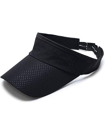 2297e74a754dca YJZQ Unisex Packable Sun Visor Hat Mesh Quickly-dry Sun Protection Hat Wide  Brim Baseball