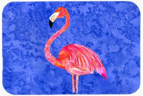 Caroline's Treasures 8685LCB Flamingo Glass Cutting Board, Large, Multicolor