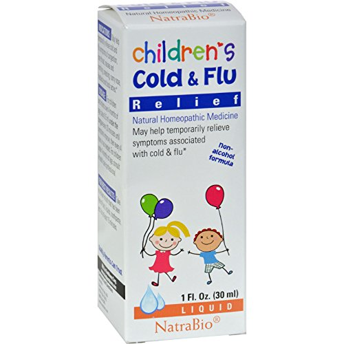 - Natrabio Childrens Cold And Flu Relief - 1 Fl Oz