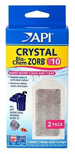 API 2 Count Crystal Bio-Chem Zorb Internal Filter Cartridge