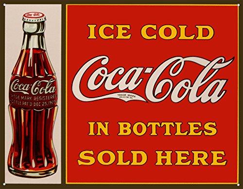 Coca-Cola Tin Sign 16 x 13in