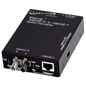 Transition Network E-TBT-FRL-05 10Mbps Ethernet Media Converter