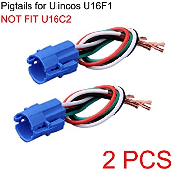 amazon com not fit u16c2 16mm pigtail wire connector socket plug rh amazon com Ford Wiring Pigtail Pigtail Wiring Harness