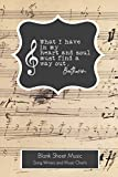 Beethoven What I have in my heart and soul must find a way out Sheet Music: Blank sheet Music for Musician| Songwriters | Piano |Guitar | Nashville ... / Staff Paper / Composition Books Gifts
