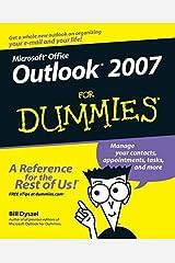 [Outlook 2007 For Dummies] [By: Dyszel, Bill] [December, 2006] Paperback