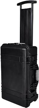 Caja dura para herramientas Anself resistente al agua con ruedas y ...