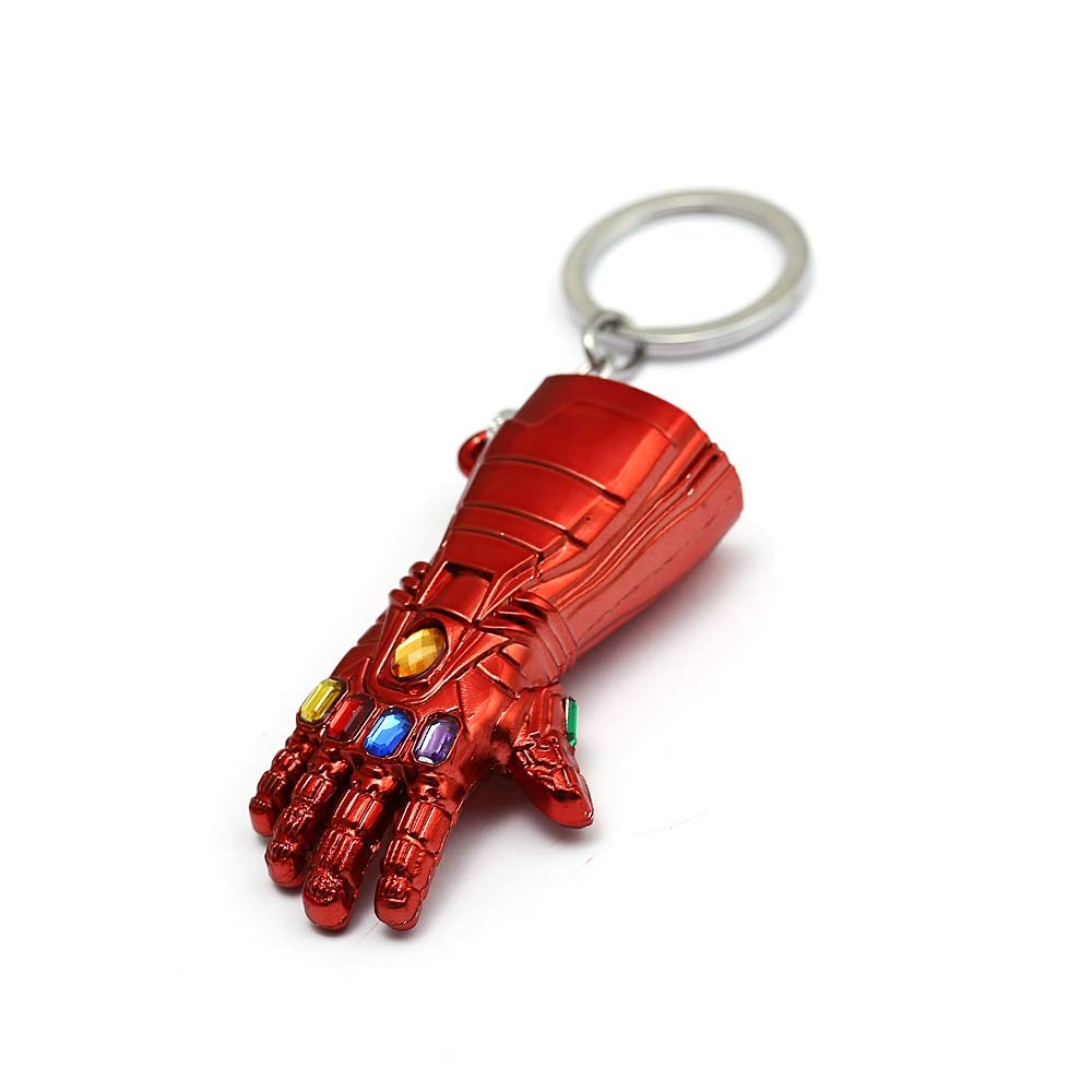Amazon.com: New Avengers Iron Man Glove Keychain Marvel ...