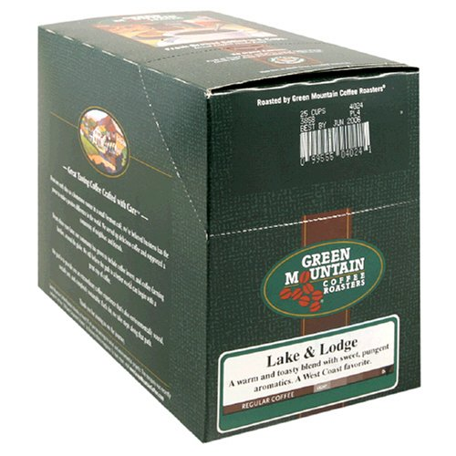 Green Mountain Lake & Lodge K-Cup For Keurig Brewers by Green Mountain Coffee