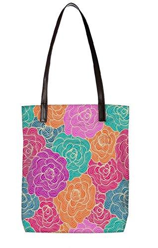 ToteBag Strandtasche BL LTR Snoogg 5120 mehrfarbig mehrfarbig 6TwAwUq
