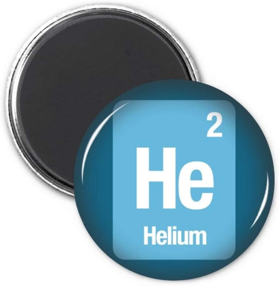 He Helium Chemical Element Science Refrigerator Magnet Sticker Decoration Badge Gift