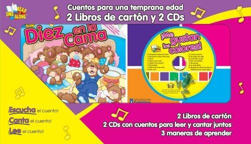 Cuentos para una temprana edad (Early Learning) Read & Sing Along: 2 Board Books - 2 CDs: 2 Libros de cart??n y 2 CDs (Read & Sing Along Board Books with CDs) (Spanish Edition) by Kim Mitzo Thompson (2006-10-16) PDF