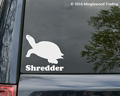 """Minglewood Trading Turtle Vinyl Decal Sticker with Custom Personalized Name 5"""" x 5"""" Tortoise Shell Turquoise"""