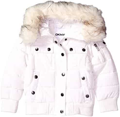 DKNY Girls' Fashion Outerwear Jacket (More Styles Available)