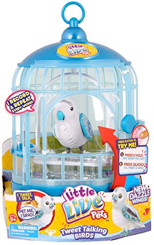 Little Live Pets Bird with Cage - Prince Charmer by Little Live Pets