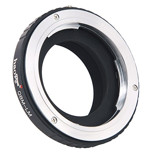 Lens Accessories Haoge Lens Adapter for Rollei 35 SL35 QBM Quick Bayonet  Mount Lens to Leica M LM   PrestoMall - Lens