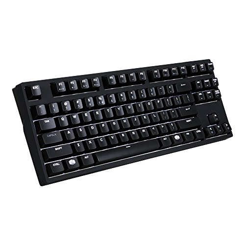 Cooler Master MasterKeys Pro S White LED Mechanical Gaming Keyboard, Cherry MX Brown, TenKeyless (Small)
