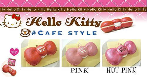 Hello Kitty Bow Macaroon HOT PINK - Pink Kitty With Bow Hello