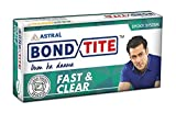 Resinova Astral BONDTITE FAST & CLEAR EPOXY Bond Tite Adhesive Glue - Sets In 5 Minutes & Dries Clear - 36g x 24pc = Total 864g