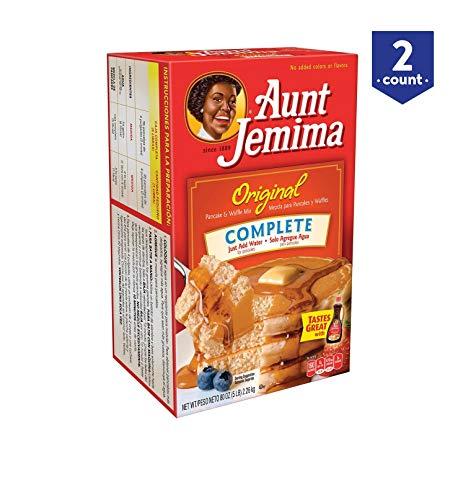 Aunt Jemima Original Pancake and Waffle Mix, 5 Pound Pack of 2