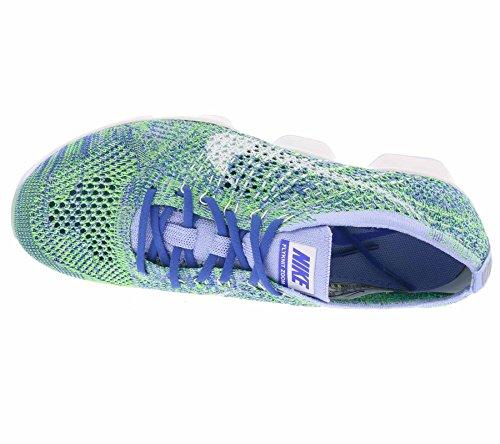 Nike Damen Zoom Fit Agility Low Top Schnürrunning Sneaker Kreide Blau / Weiß-Racer Blau