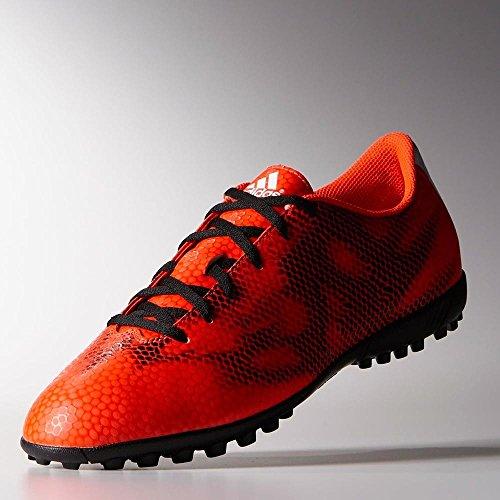 Adidas - F5 TF - Couleur: Noir-Rouge - Pointure: 42.0