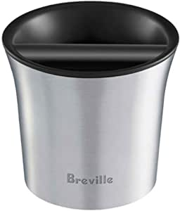 Breville The Knock Box Accessory, Brushed Stainless Steel BCB100BSS