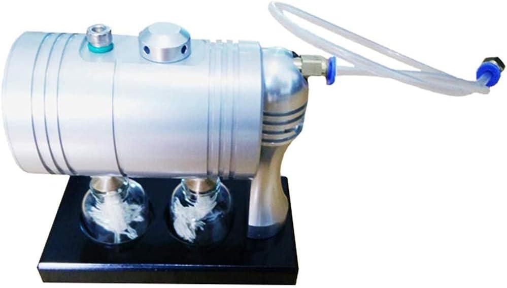 FHISD Modelo de Motor de Vapor Caldera Generador de Vapor y métodos de enseñanza Juguetes físicos Kit de Motor Stirling