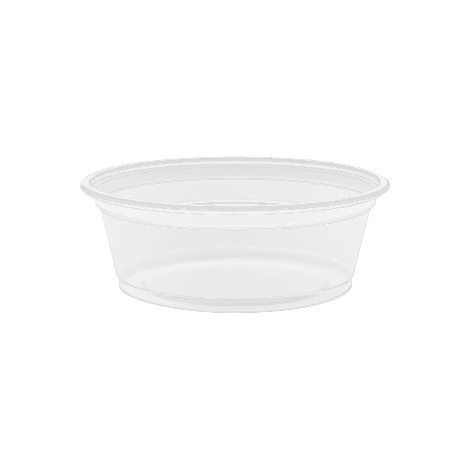 Dart 150PC 1 .5 oz Clear PP Portion Container (Case of 2500) by DART