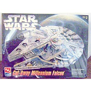 AMT Star Wars Cut-Away Millennium Falcon Model Kit | Compare Prices, Set  Price Alerts, and Save with GoSale com