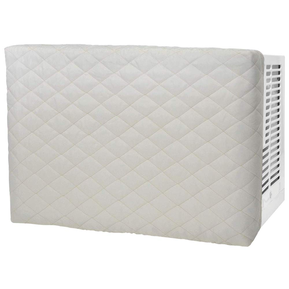 Indoor Quilted Window Air Conditioner Cover, Keeps Cold Air Out and Maintains Heat in Winter Eliminate Dust Buildup, 21W x 2.5D x 14H Alritz