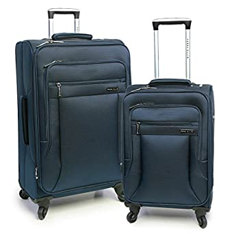Amazon.com | Luggage Fortune 2 Piece Set Suitcase with Spinner ...