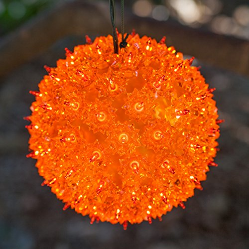 Wintergreen Lighting Mega Starlight Sphere 150 Lights, 10