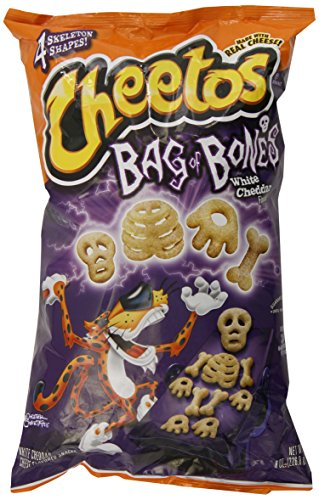 Cheetos Bag of Bones 8 Oz White Cheddar (Pack of 3)