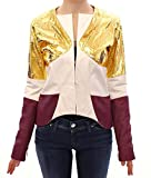 Product review for Vladimiro Gioia White Gold Purple Leather Jacket