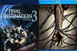 Pandorum & Final Destination 3 Blu Ray Scary Horror Thriller Movie Set
