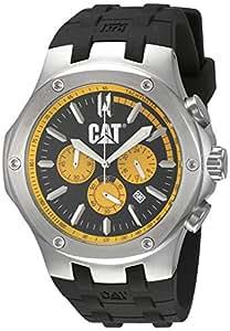CAT A1.143.21.127 - Reloj analógico de cuarzo para hombre, correa de goma color negro