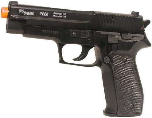 Pistola de airsoft Sig Sauer P226 H.P.A. con deslizamiento metálico, cal. 6 mm BB, sistema de presión de resorte <0,5 julios, 203558