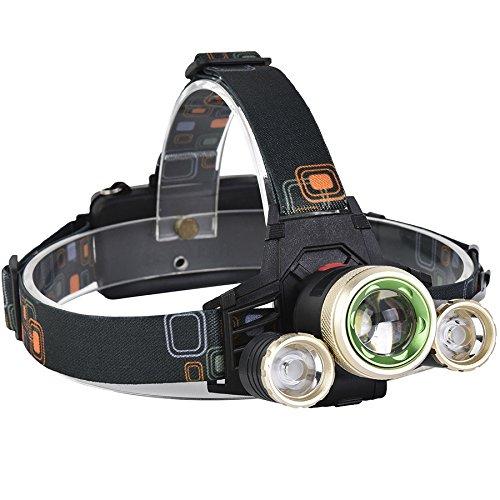 LaDicha Xanes 740 1200 Lumens T6 + Xpf Led Vélo Phare Mécanique Zoom Sport Extérieur Projecteur 4 Modes