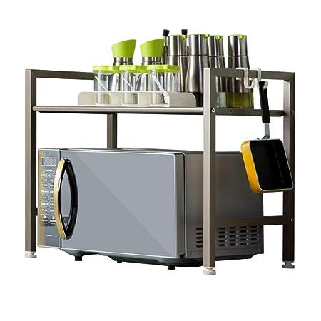 Estante para Cocina Estantes de cocina de acero al carbono Inicio ...
