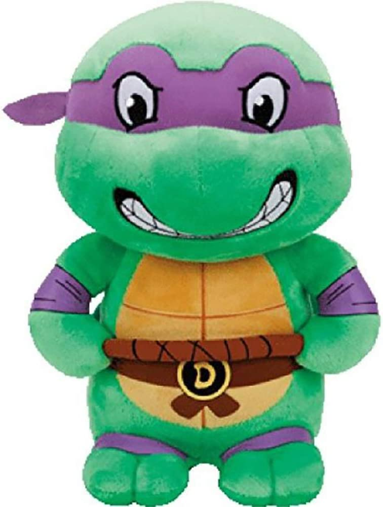 T&Y TY Donatello Teenage Mutant Ninja Turtles Purple Mask Medium 13""